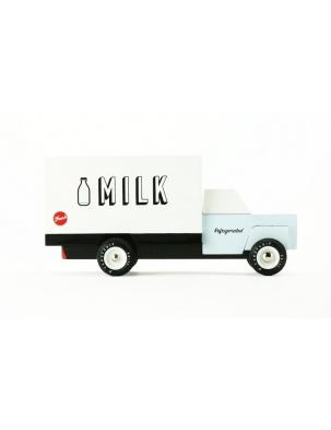 Samochód Drewniany Milk Truck CANDYLAB