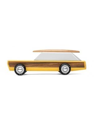 Samochód Drewniany Woodie Wagon CANDYLAB