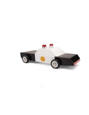 Samochód Drewniany Police Cruiser CANDYLAB