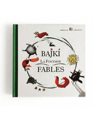 Bajki La Fontaine Fables + CD WIDNOKRĄG
