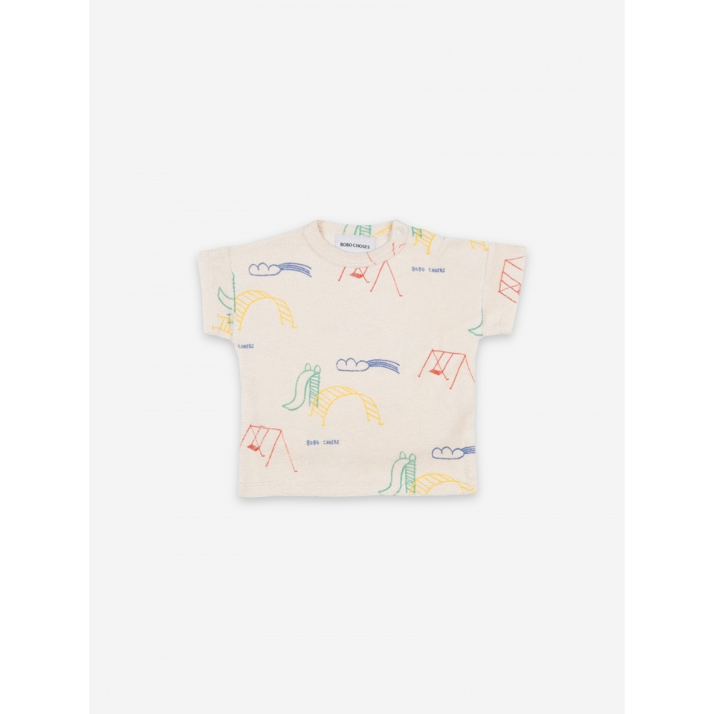 T-SHIRT FROTTE PLAYTIME BOBO CHOSES