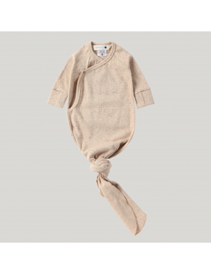 Body kokon z bawełny organicznej COTTON SPECKLED SUSUKOSHI