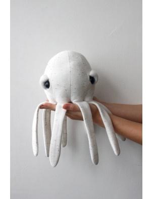 Przytulanka Ośmiornica The Mini Octopus Albino BIGSTUFFED