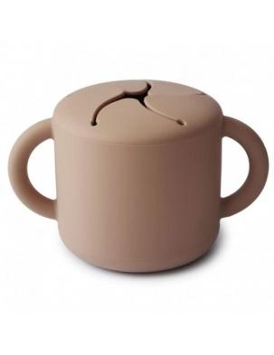 Kubek niewysypek na przekąski SNACK CUP Natural MUSHIE