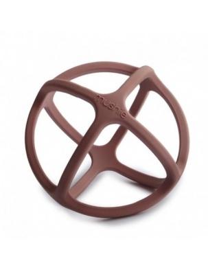 Gryzak sensoryczny 3D silikonowy BALL Woodchuck MUSHIE