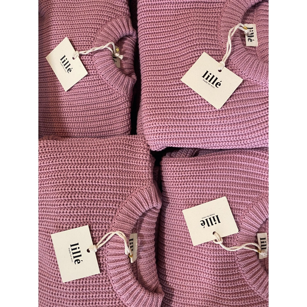 SWETER CHUNKY ROSE LILLE