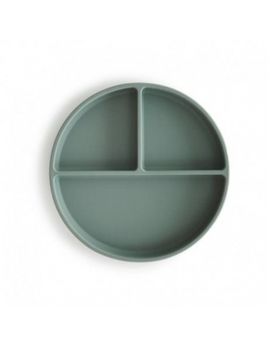 Mushie - talerzyk silikonowy Cambrige Blue MUSHIE