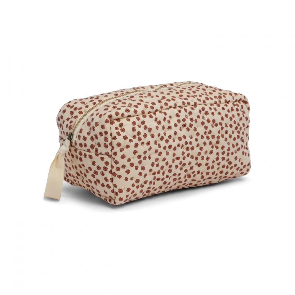 Kosmetyczka QUILTED TOILETRY BAG BUTTERCUP ROSA Konges Sloejd