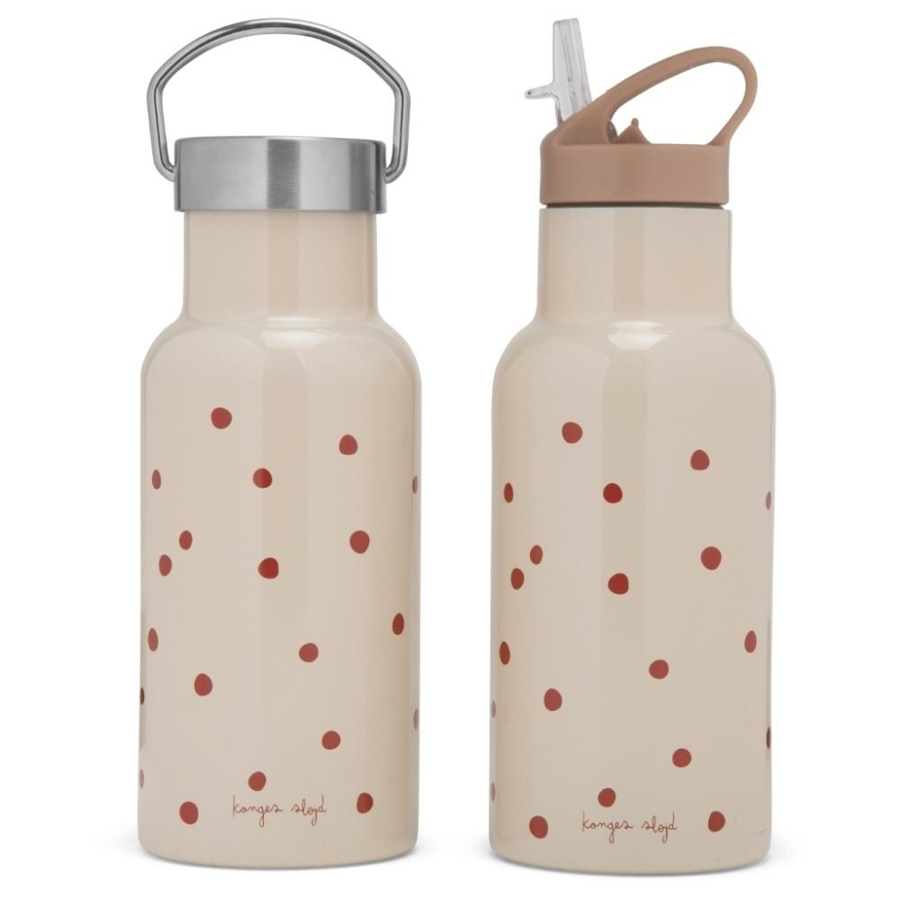 Butelka termiczna ze stali nierdzewnej / bidon RED DOT Konges Sloejd