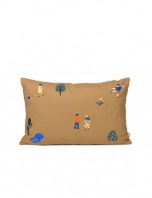 Poduszka dekoracyjna The Park Cushion SUGAR KELP FERM LIVING