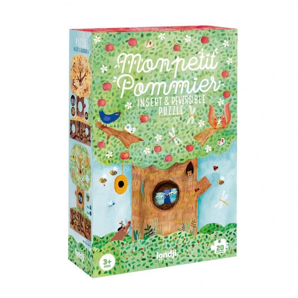 Puzzle dla dzieci Mon Petit Pommier - Moja Jabłoń Londji®