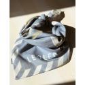 Bawełniana bandana VINTAGE BLUE 55x55 cm LeoLeo