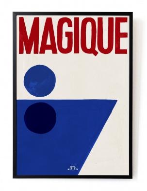 Plakat A splash of Magique A3 HOTEL MAGIQUE