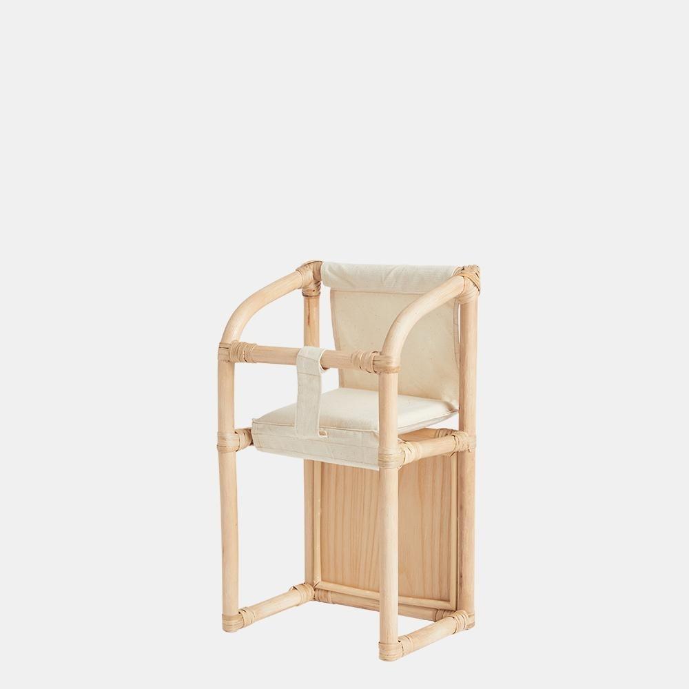 Rattanowe Krzesełko dla lalki Olli Ella