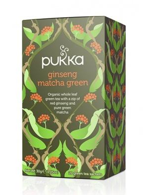 Ginseng Matcha Green 20 saszetek Pukka