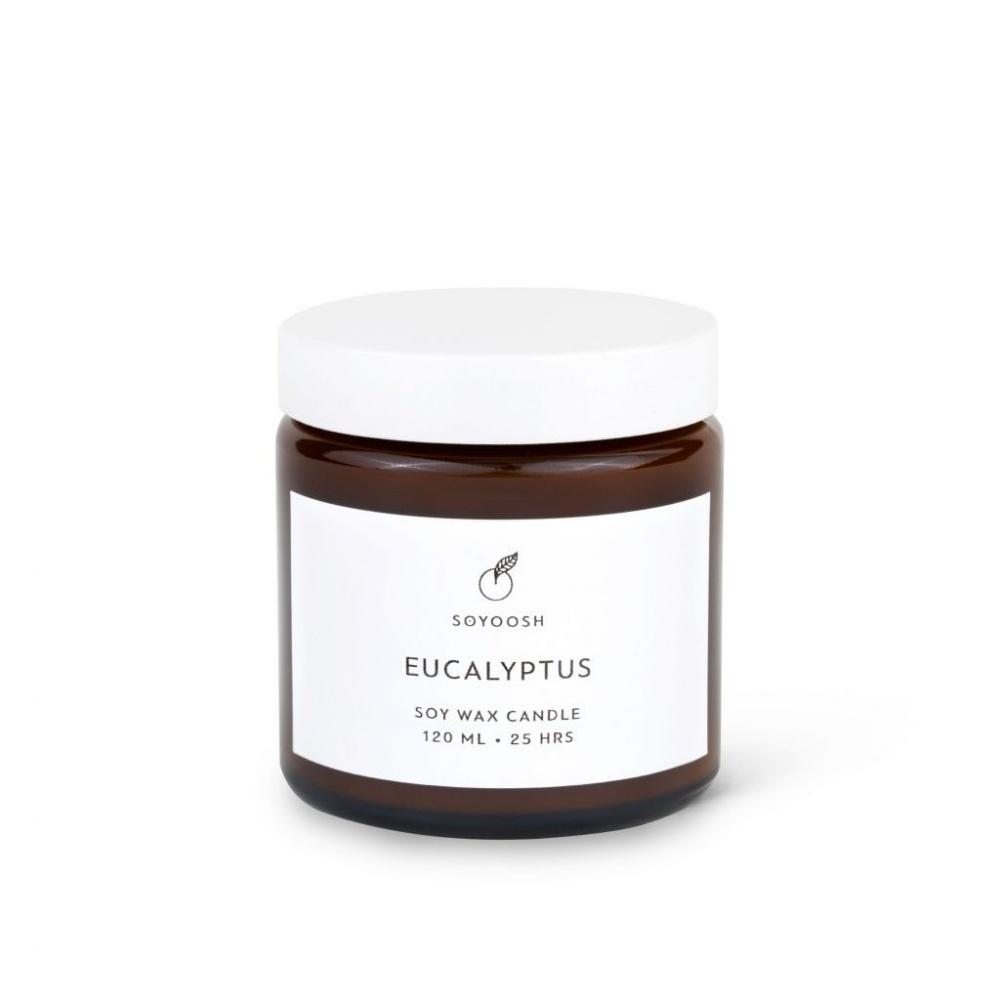 ŚWIECA SOJOWA Eucalyptus 120 ML Soyoosh