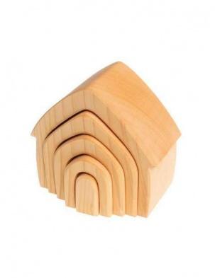 Drewniany domek kolekcja naturalna 1+ Grimm's