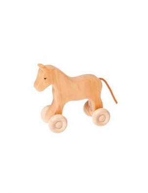 Drewniany koń mały 1+ Grimm's