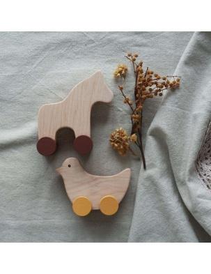 Zestaw konik i ptak kolor Pinch Toys
