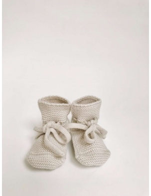 Buciki Booties off white Hvid