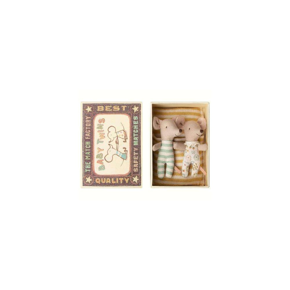 Myszki Bliźniaki BABY TWINS New w pudełku Maileg