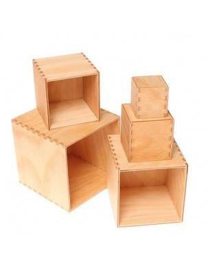 Mały zestaw pudełek kolekcja naturalna 0+ Grimm's