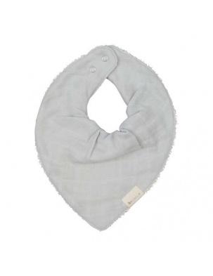 Śliniak Bandana Icy Grey Fabelab