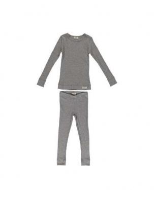 Piżama prążkowana Grey MarMar