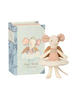 MYSZKA ANGEL MOUSE BIG SISTER IN BOOK MAILEG