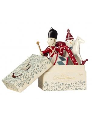Ozdoby świąteczne w pudełku 6 szt.Classic Maileg