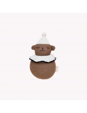 Zabawka jingling teddy toy Main Sauvage