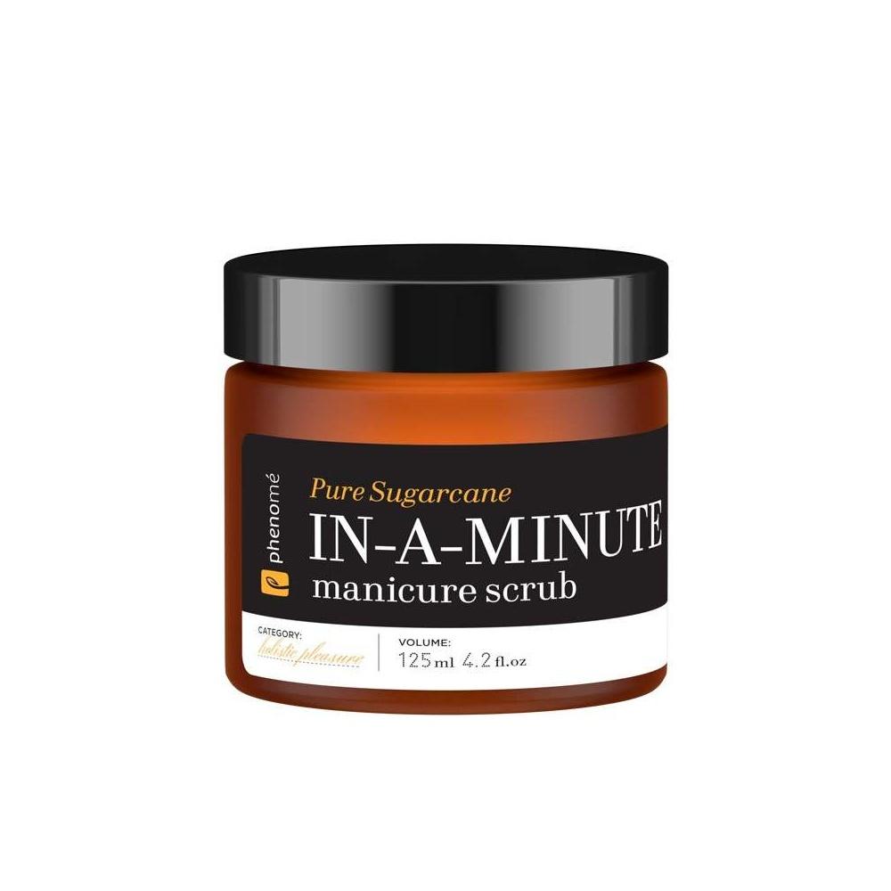 Peeling do dłoni IN-A-MINUTE manicure scrub 125 ml Phenome