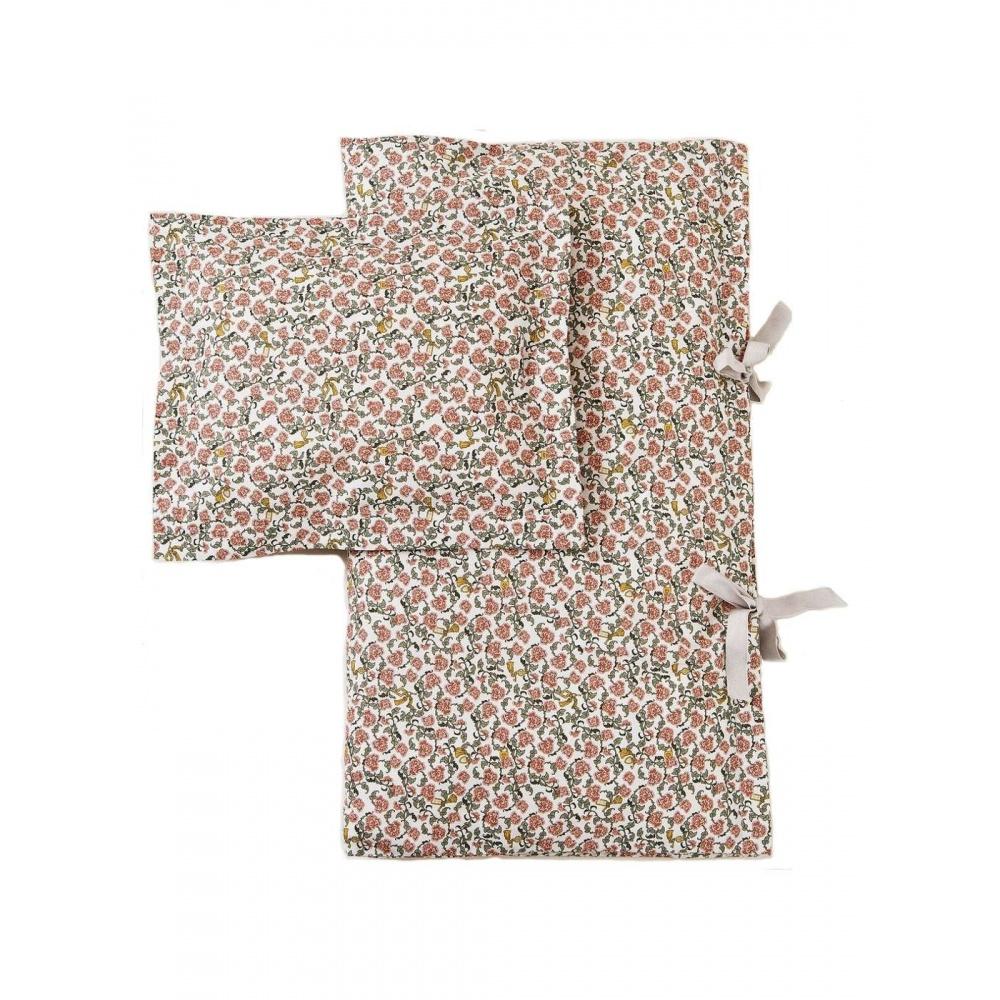 Zestaw Pościeli Floral Vine Junior 100/140 cm Garbo&Friends