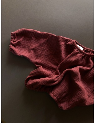 Bluzeczka muślinowa Carmen lille