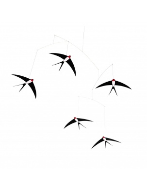 Mobil Five Flying Swallows Flensted Mobiles