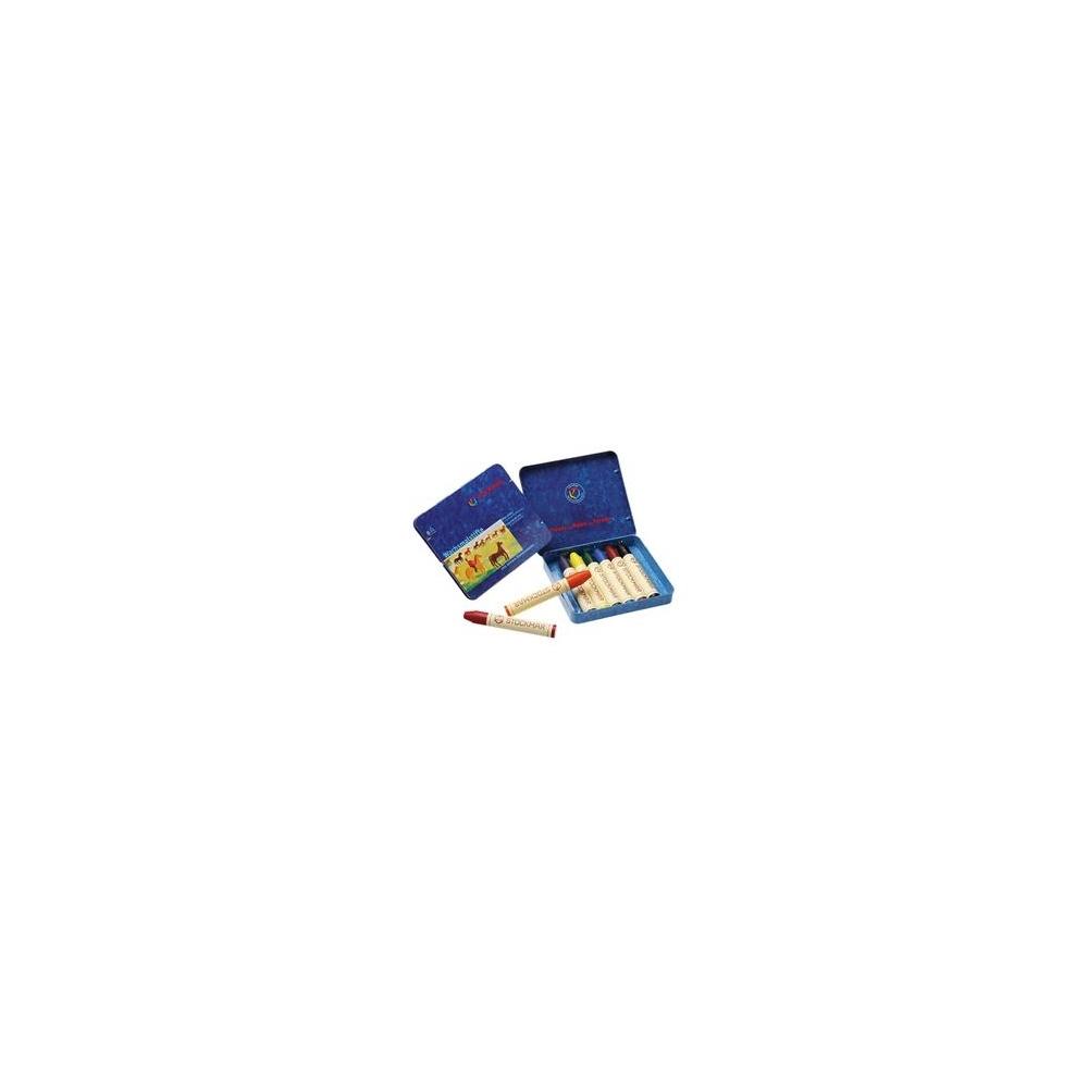 Kredki woskowe 8 kolorów STOCKMAR