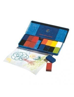 Nietoksyczne bloczki woskowe 16 kolorów STOCKMAR