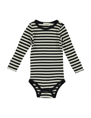 Body prążkowane Black/Off white MarMar