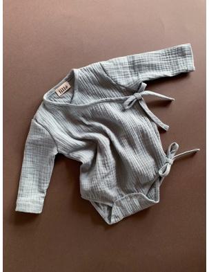 Muślinowe body kimono lille