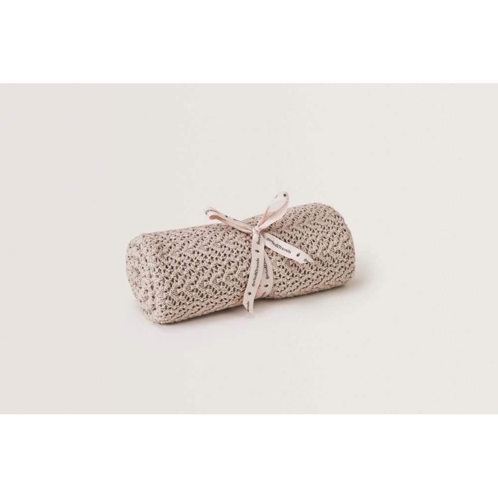 Kocyk Breighe Croshet Cotton/Wool Garbo&Friends