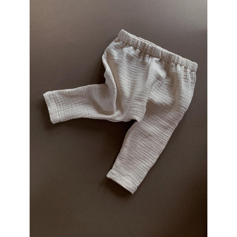 Muślinowe spodnie lille