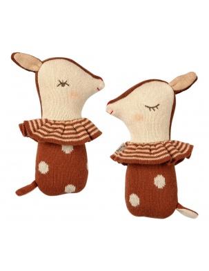 GRZECHOTKA Bambi rattle Rusty MAILEG