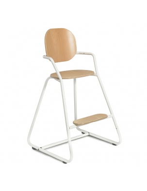 Krzesełko TIBU High Chair Gentle White Charlie Crane