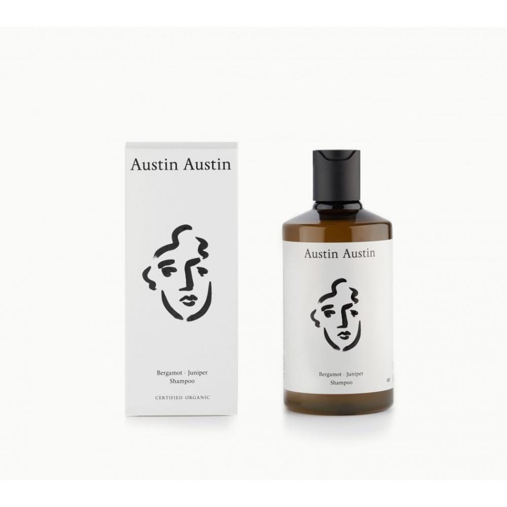 Szampon do włosów Bergamot & Juniper Shampoo 300ml AUSTIN AUSTIN ORGANIC