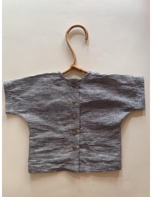 Lniany t-shirt lille