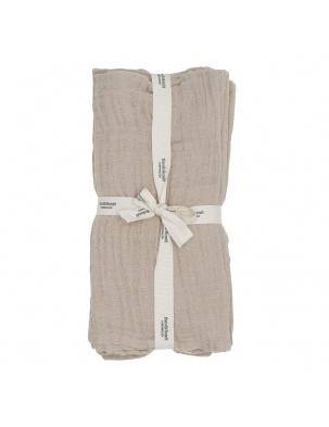 Muślinowe pieluszki Muslin cloth Sandshell Bonet et Bonet