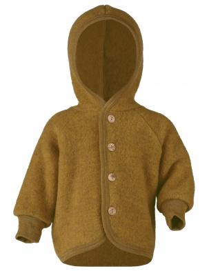 Bluza/kurtka z wełny merino safran melange Engel