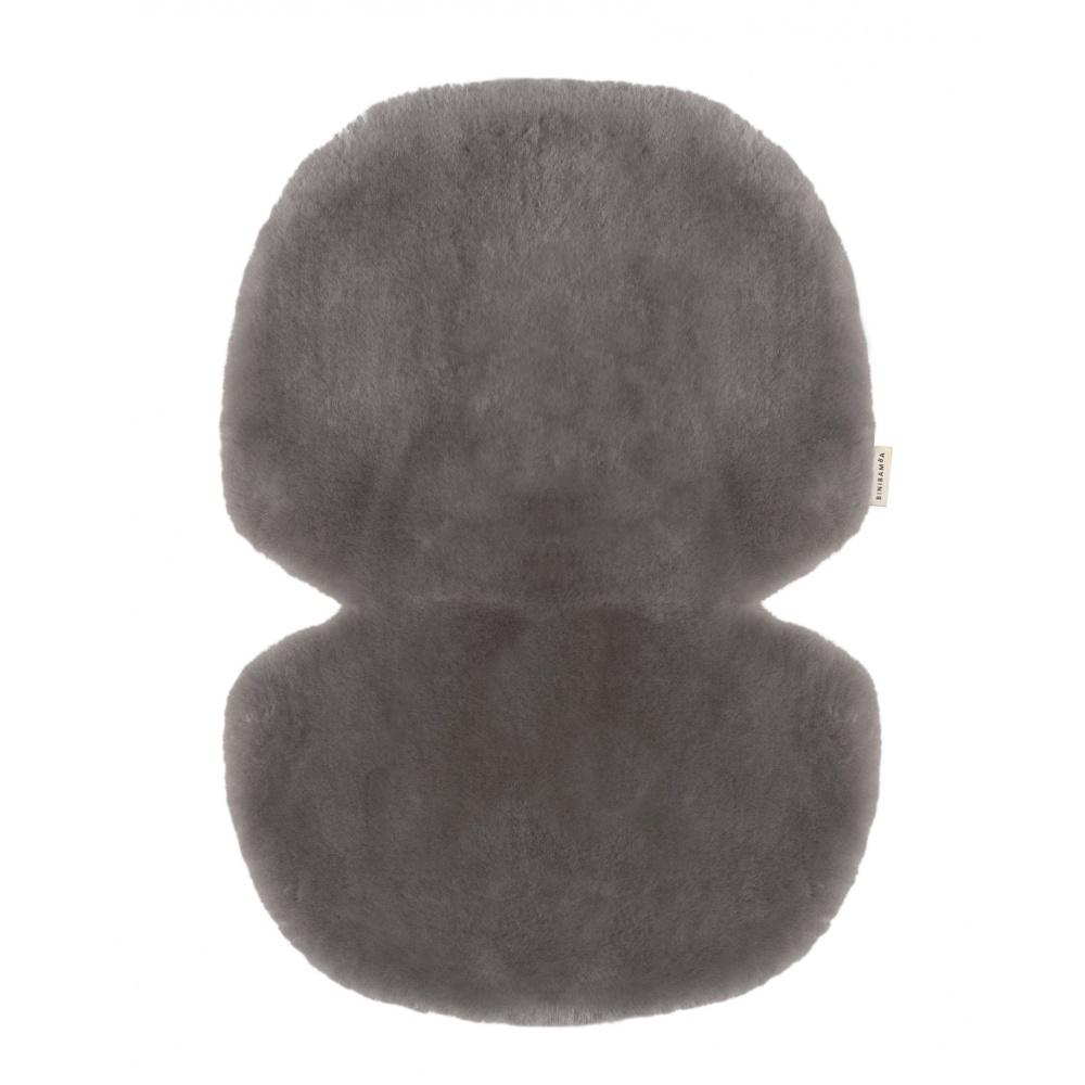 Wkładka do wózka/fotelika/kosza mojżesza ze skóry owczej ELEPHANT BINIBAMBA