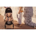 Wkładka do wózka/fotelika/kosza mojżesza ze skóry owczej  ROSE BINIBAMBA