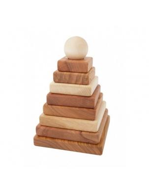 Piramida Naturalna Kwadratowa WOODEN STORY
